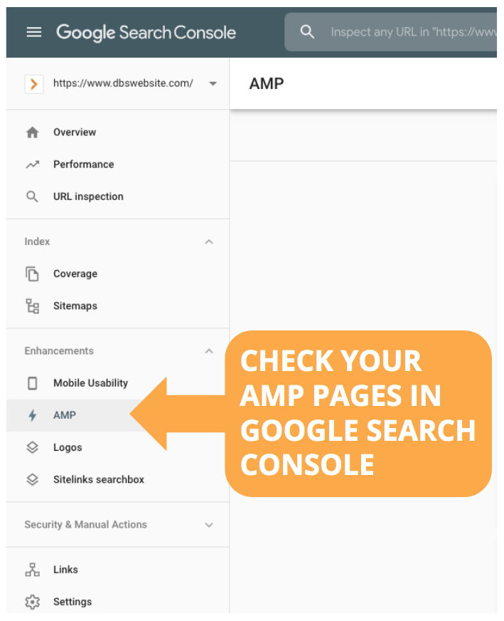 Check AMP pages for index issues in Google Search Console to boost Technical SEO