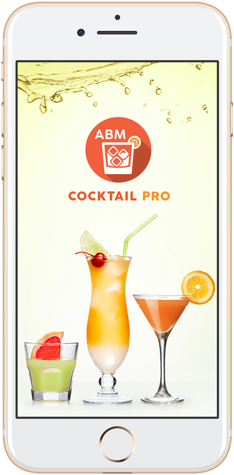 ABM Cocktail Pro on a cell phone screen