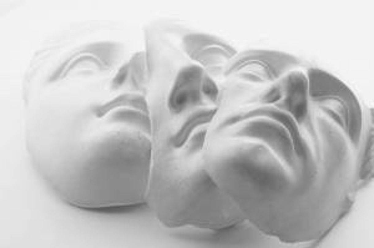 Photo of masks that imply different B2B website sales funnel personas