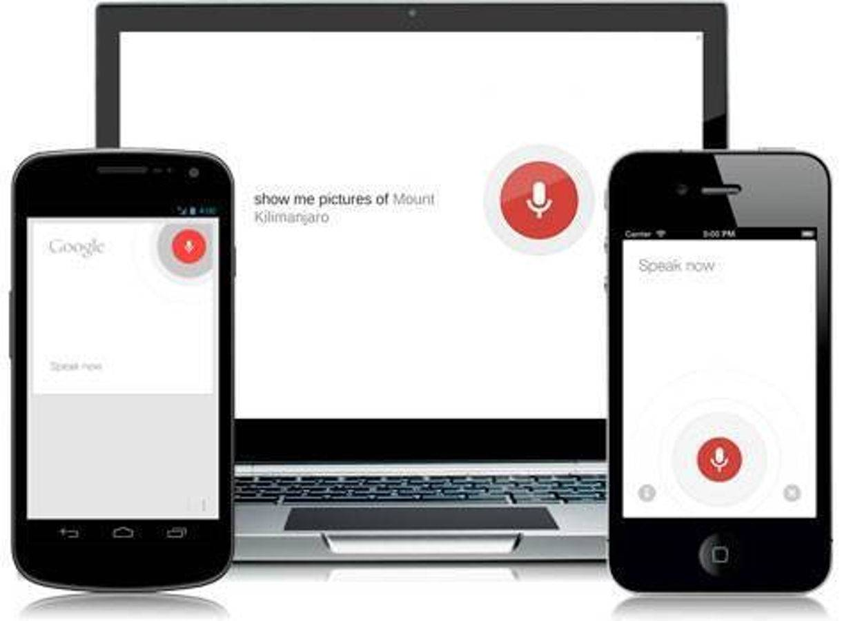 Google Voice Search on Multiple Devices