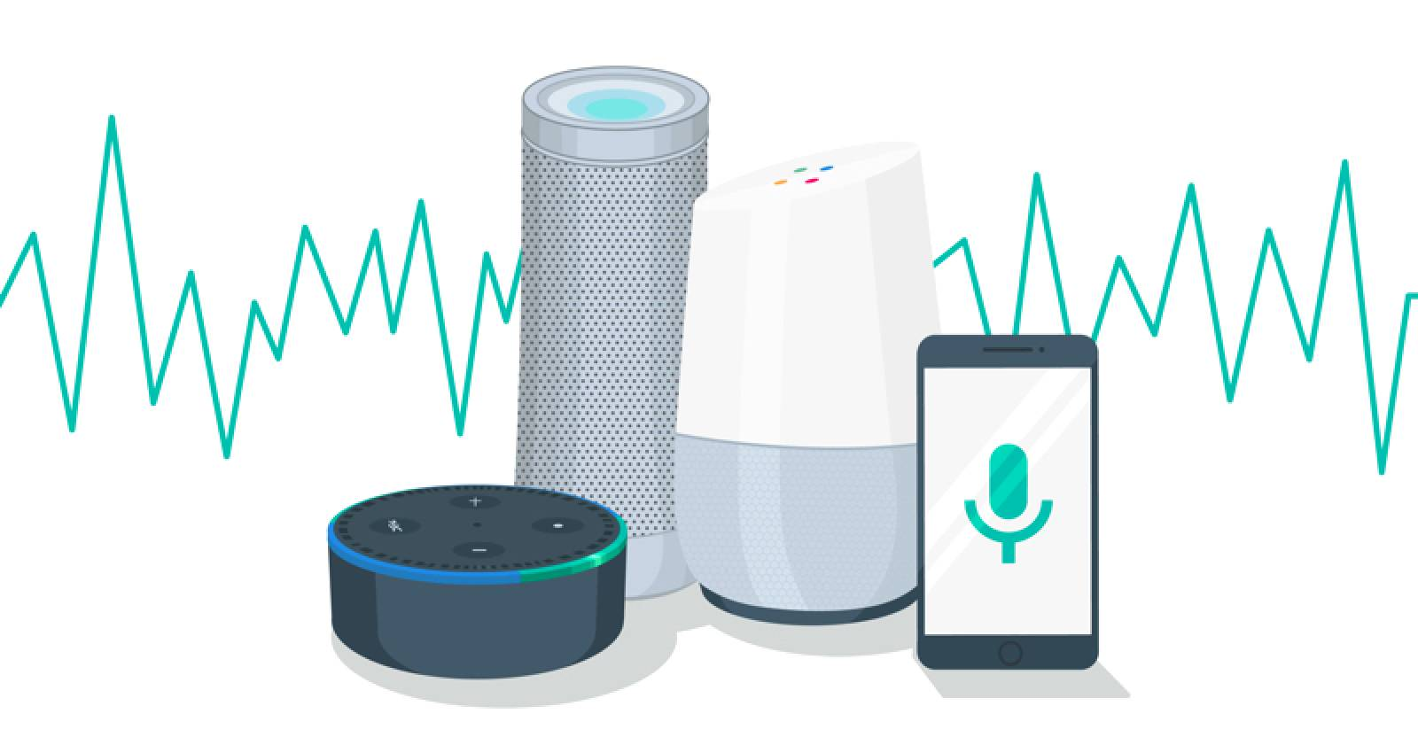 Voice search smart devices.