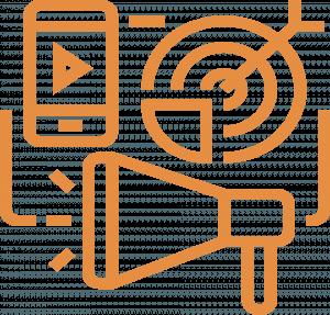 icon representing the lead generation ecosystem