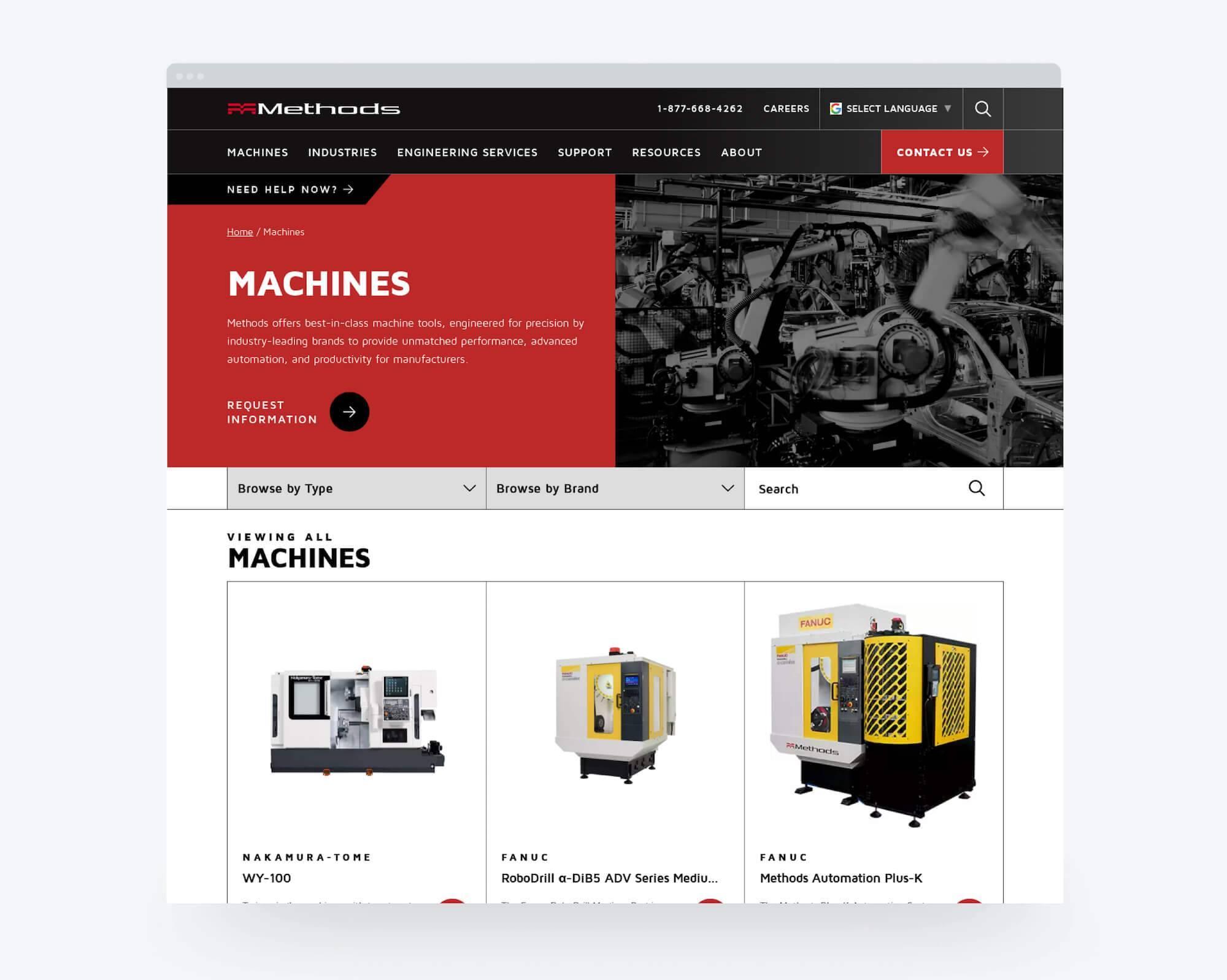 Methods Machine Machines Page